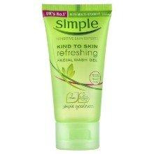 Simple_Kind to Skin Refreshing Facial Wash_Gel_Malassezia_(Fungal_Acne)_Safe_Product