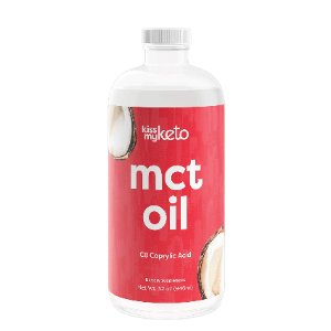 Kiss My Keto C8 MCT Oil - 100% Caprylic Acid_Malassezia (Fungal Acne) Safe Product
