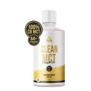 LevelUp - Clean MCT Caprylic Oil 100% Pure C8 Premium Grade MCT Oil
