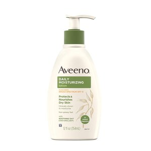 Aveeno Daily Moisturizing Body Lotion with Broad Spectrum SPF 15
