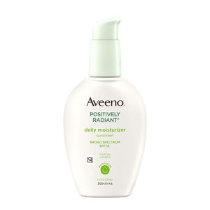 Aveeno Positively Radiant Daily Face Moisturizer with Broad Spectrum SPF 15 Sunscreen and Soy Extract
