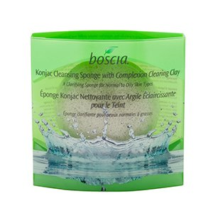 Boscia - Konjac Cleansing Sponge With Complexion Clearing Clay