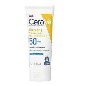 CeraVe - Hydrating Sunscreen SPF 50 Face Lotion