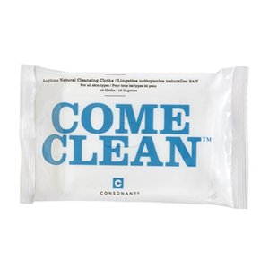 Consonant Skincare - Come Clean 100% Natural Bamboo Cleansing Cloths