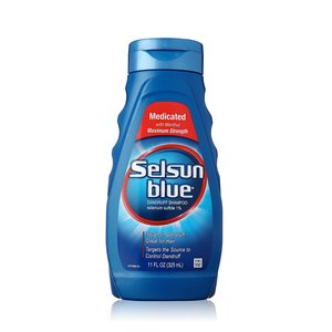 Selsun Blue - Medicated Maximum Strength Dandruff Shampoo