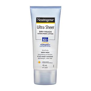 Neutrogena - Ultra Sheer Face & Body Lotion SPF50