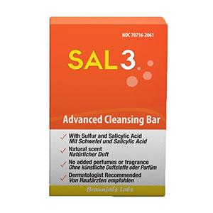 SAL3 - Salicylic Acid And Sulphur Soap