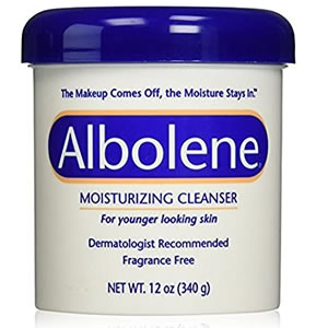 lbolene Moisturizing Cleanser, glycerin-free, fungal acne safe dermatologist-tested makeup remover, and facial cleansing balm.