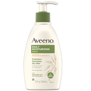 Aveeno Daily Moisturizing Lotion Sunscreen SPF15