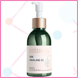 Biossance - 100% Squalane Oil - Sugarcane-derived squalane oil for face and body. It's hydrating, light, and absorbs quickly