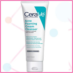 CeraVe Acne Foaming Cream Cleanser