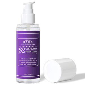 Cos de Baha Salicylic Acid Facial Exfoliant Liquid Glycerin-Free + Fungal Acne Safe