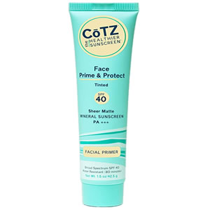 Cotz Face Prime & Protect Tinted Mineral Sunscreen