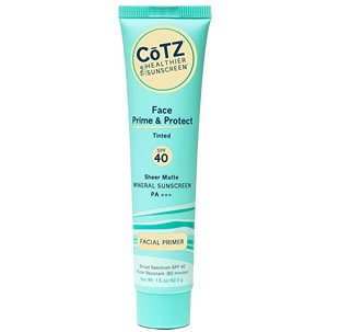 Cotz Face Prime & Protect Tinted SPF 40