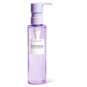 Glow Recipe Blueberry Bounce Gentle Cleanser Glycerin-Free, Fungal Acne Safe Cleanser