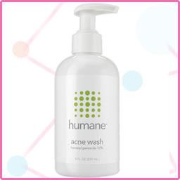 Humane – Acne Wash (Benzoyl Peroxide 10%)