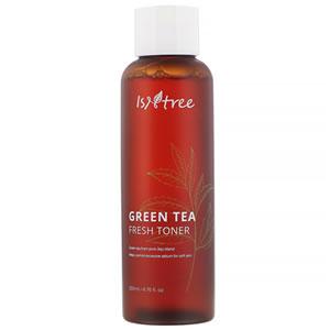 Isntree Green Tea Fresh Toner, Fungal Acne Safe, Glycerin-Free