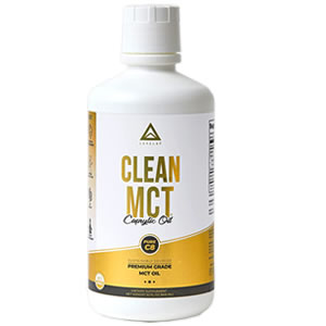 LevelUp Clean MCT Oil Caprylic Oil (Pure C8)-- fungal acne safe oil cleanser