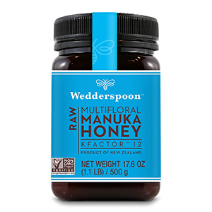 Wedderspoon - Raw Multifloral Manuka Honey KFactor 12