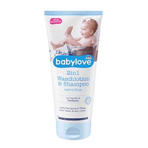 Babylove - 2in1 Waschlotion & Shampoo Sensitive