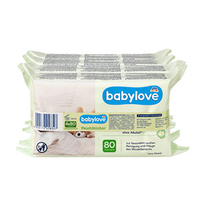 Babylove - Aloe Vera Wet Wipes