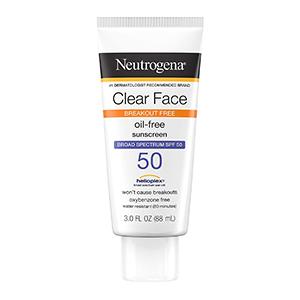 Neutrogena - Clear Face Break-Out Free Liquid Lotion Sunscreen SPF 50