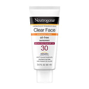 Neutrogena - Clear Face Break-Out Free Liquid Lotion Sunscreen SPF 30